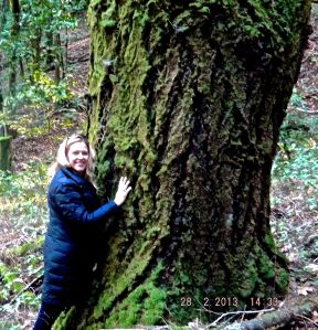 Tree-hugging ... my second favorite pastime!